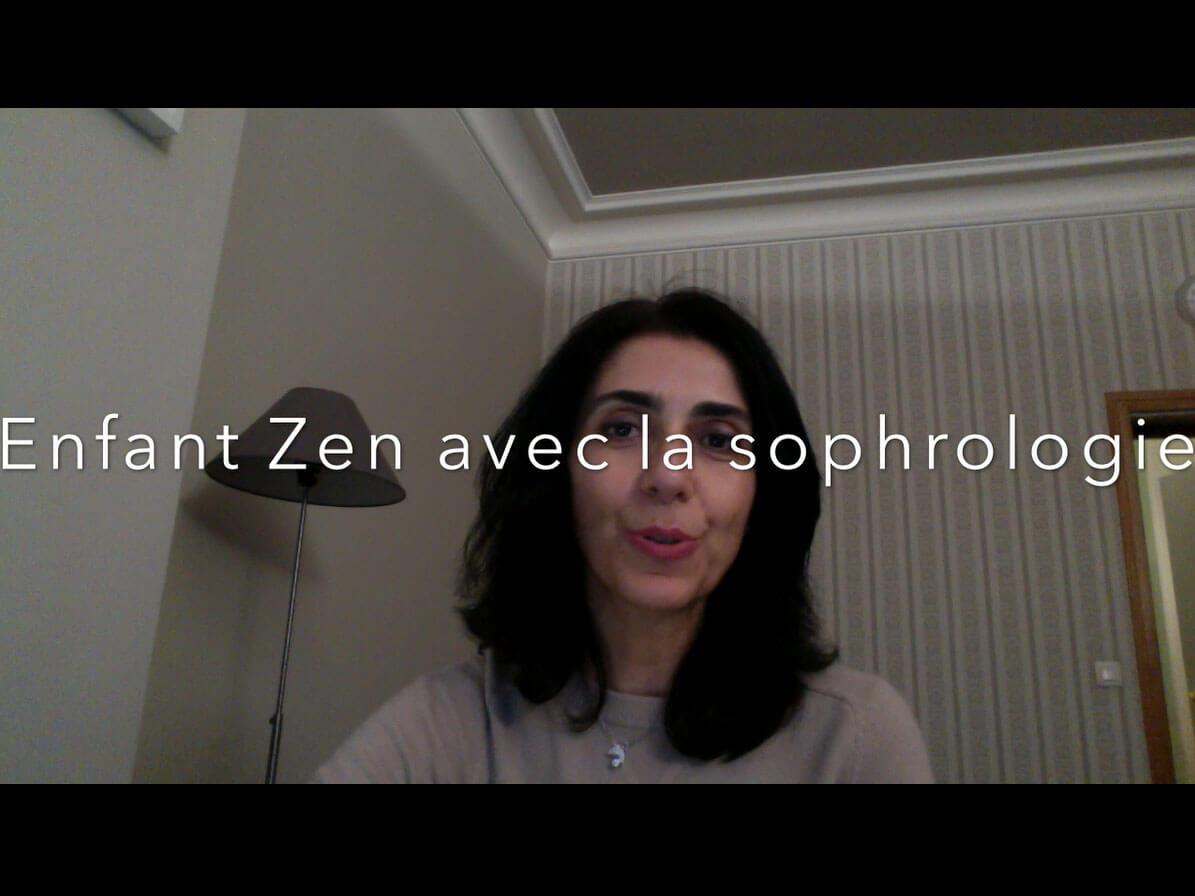 Enfant Zen avec la sophrologie